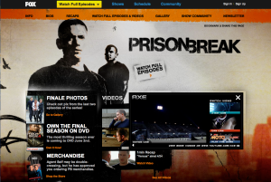 From Prison Break Web Site