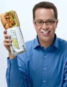 Jared Eating Subway